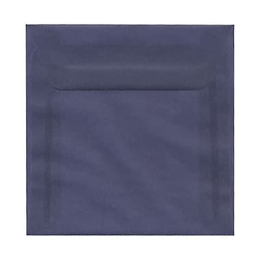 JAM Paper® 6.5 x 6.5 Square Envelopes, Wisteria Purple Translucent Vellum, 25/pack (1592113)