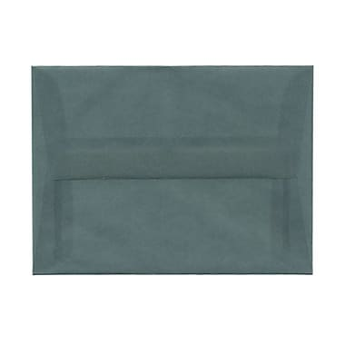 JAM Paper® A6 Invitation Envelopes, 4.75 x 6.5, Ocean Blue Translucent Vellum, 1000/Pack (PACV652B)