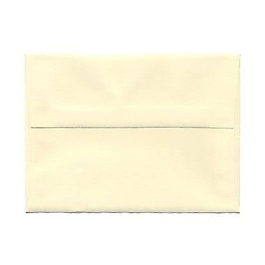JAM Paper® A6 Invitation Envelopes, 4.75 x 6.5, Strathmore Ivory Laid, 100/Pack (191181g)