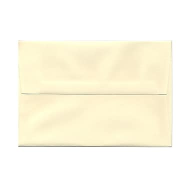 JAM Paper® A8 Invitation Envelopes, 5.5 x 8.125, Strathmore Ivory Laid, 100/Pack (90810172g)