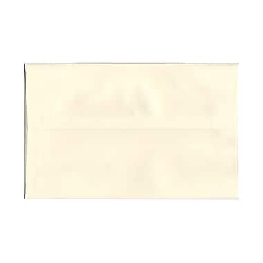 JAM Paper® A10 Invitation Envelopes, 6 x 9.5, Strathmore Natural White Linen, 1000/Pack (900789414B)