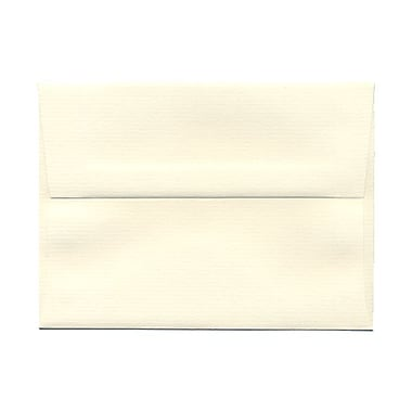 JAM Paper® Booklet Pinstripe Strathmore Envelopes with Gum Closures, 4 3/4