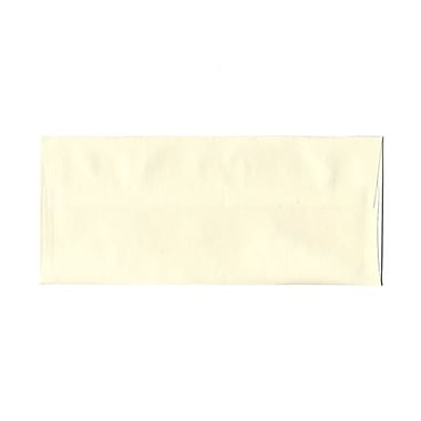 JAM Paper® #10 Business Envelopes, 4 1/8 x 9 1/2, Strathmore Natural White Pinstripe, 1000/carton (18662B)