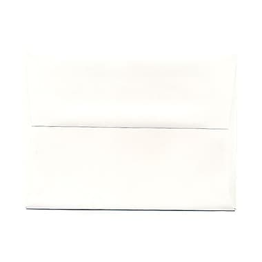 JAM Paper® A6 Invitation Envelopes, 4.75 x 6.5, Strathmore Bright White Wove, 1000/Pack (STTW661B)