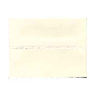 JAM Paper® A2 Invitation Envelopes, 4.38 x 5.75, Strathmore Natural White Wove, 1000/Pack (5TTW613B)
