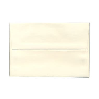 JAM Paper® A8 Invitation Envelopes, 5.5 x 8.125, Strathmore Natural White Wove, 100/Pack (191205g)