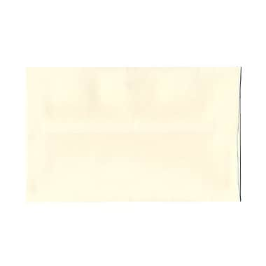 JAM Paper® A9 Invitation Envelopes, 5.75 x 8.75 Strathmore Natural White Wove, 100/Pack (31911141g)