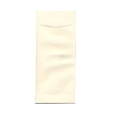 JAM Paper® #11 Policy Envelopes, 4.5 x 10.38, Strathmore Natural White Wove, 100/Pack (900905923g)