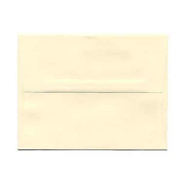 JAM Paper® A2 Invitation Envelopes, 4.38 x 5.75, Strathmore Ivory Wove, 1000/Pack (900919415B)