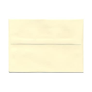 JAM Paper® A6 Invitation Envelopes, 4.75 x 6.5, Strathmore Ivory Wove, 100/Pack (900913185g)