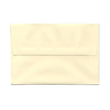 JAM Paper® A8 Invitation Envelopes, 5.5 x 8.125, Strathmore Ivory Wove, 100/Pack (900783880g)