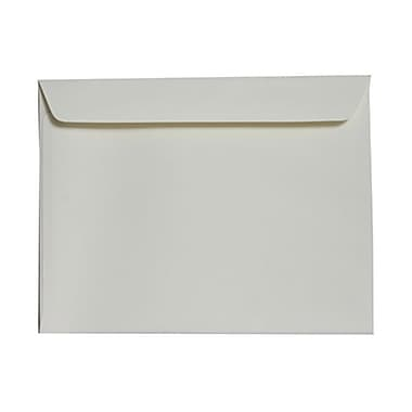 JAM Paper® 9in. x 12in. Strathmore Wove Booklet Envelopes, Ivory, 25/Pack