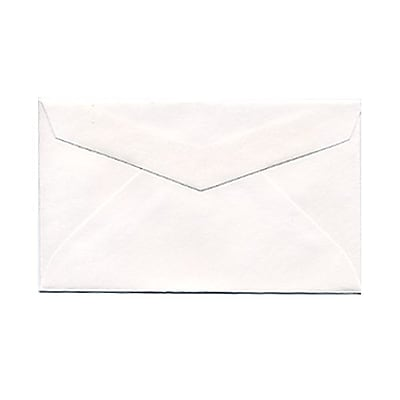 JAM Paper 2Pay Mini Small Envelopes 2.5 x 4.25 White 25 pack 201215