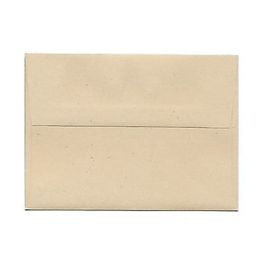 JAM Paper® A6 Invitation Envelopes, 4.75 x 6.5, Husk Brown Recycled, 100/Pack (3198g)