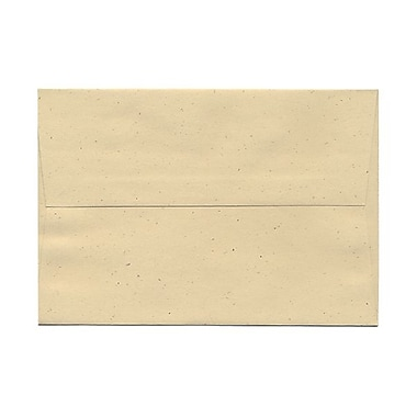 JAM Paper® A8 Invitation Envelopes, 5.5 x 8.125, Husk Brown Recycled, 100/Pack (44362g)