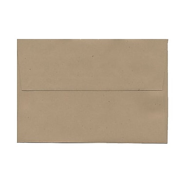 JAM Paper® A8 Invitation Envelopes, 5.5 x 8.125, Fossil Brown Recycled, 1000/carton (22741B)