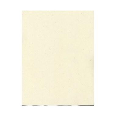 JAM Paper® 8 1/2in. x 11in. Recycled 28 lbs Paper, Milkweed Genesis, 100/Pack