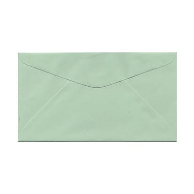 JAM Paper® 3 5/8in. x 6 1/2in. Envelopes, Light Green, 25/Pack