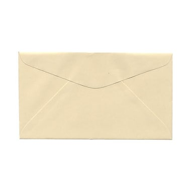 JAM Paper® #6.75 Commercial Envelopes, 3 5/8 x 6 1/2, Ivory, 1000/carton (357612640)