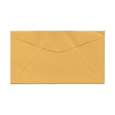 JAM Paper® #6.75 Commercial Envelopes, 3.63 x 6.5, Goldenrod, 1000/Pack (557612642)
