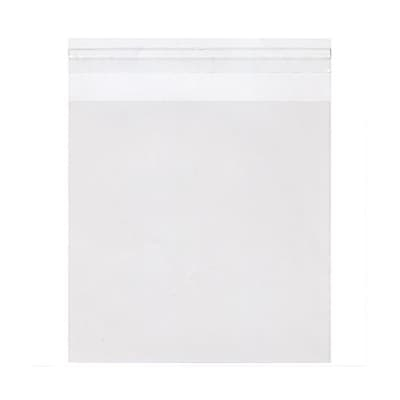 JAM Paper Cello Sleeves with Self Adhesive Closure, 6.25 x 6.25, Clear, 1000/carton (6.25X6.25CELLOB) 262933