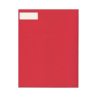 JAM Paper® 2-5/8in. x 1in. Mailing Address Labels, Red Kraft, 30/Page, 120/Pack