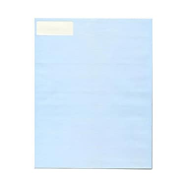 JAM Paper® 2 5/8in. x 1in. Mailing Address Labels, Baby Blue, 30/Page, 120/Pack
