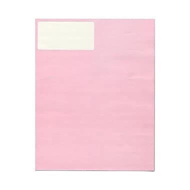 JAM Paper® 4in. x 2in. Mailing Address Labels, Baby Pink, 10/Page, 120/Pack
