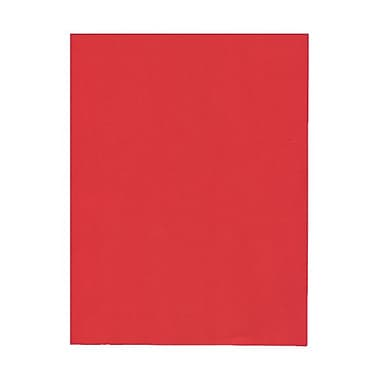 JAM Paper® 8 1/2in. x 11in. Smooth Brite Hue Recycled Paper, Red, 100 Sheets/Pack