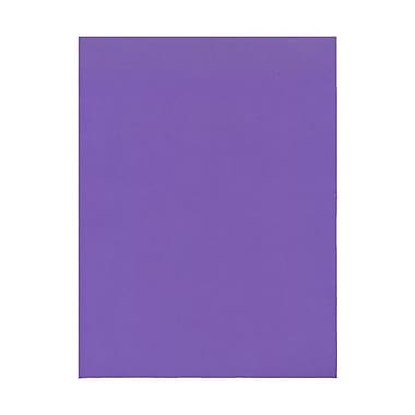 JAM Paper® 8 1/2in. x 11in. Smooth Brite Hue Recycled Paper, Violet, 100 Sheets/Pack