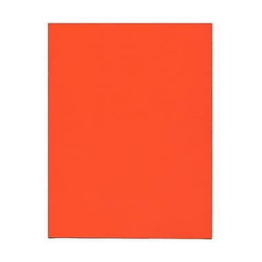 JAM Paper® 8 1/2in. x 14in. Brite Hue Recycled Paper, Orange, 100/Pack