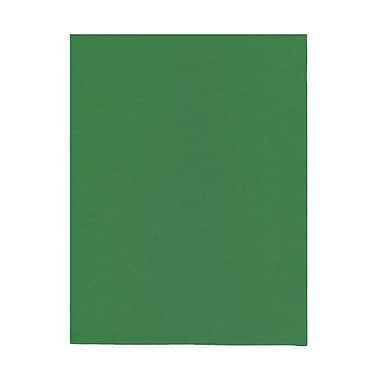JAM Paper® 8 1/2in. x 11in. Smooth Brite Hue Recycled Paper, Green, 100 Sheets/Pack