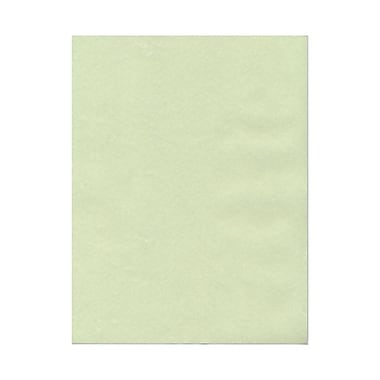 JAM Paper® 8 1/2in. x 11in. Parchment Recycled Cover Cardstock, Green, 50 Sheets/Pack