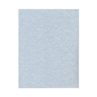 JAM Paper® 8 1/2in. x 11in. Parchment Recycled Cover Cardstock, Blue , 250 Sheets/Pack