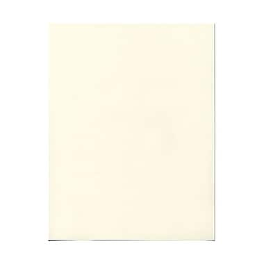 JAM Paper® 24lb 8 1/2in. x 11in. Strathmore Paper, Natural White Wove , 100 Sheets/Pack
