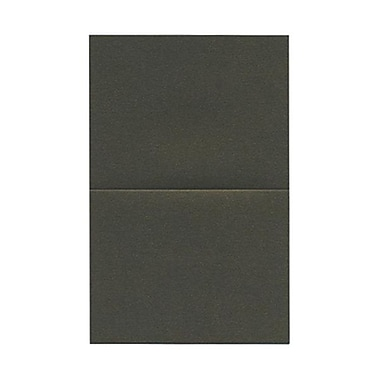 JAM Paper® Blank Foldover Cards, A2 size, 4.25 x 5.5, Stardream Metallic Rusted, 50/pack (6935214)