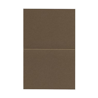 JAM Paper® Blank Foldover Cards, A2 size, 4.25 x 5.5, Stardream Antique Gold Yellow, 50/pack (269313357)