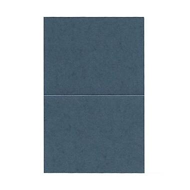 JAM Paper® Blank Foldover Cards, A2 size, 4.25 x 5.5, Stardream Metallic Malachite Green, 50/pack (6935215)