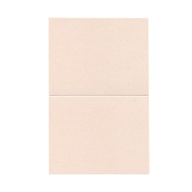 JAM Paper® Blank Foldover Cards, A2 size, 4.25 x 5.5, Stardream Metallic Coral, 50/pack (69313370)