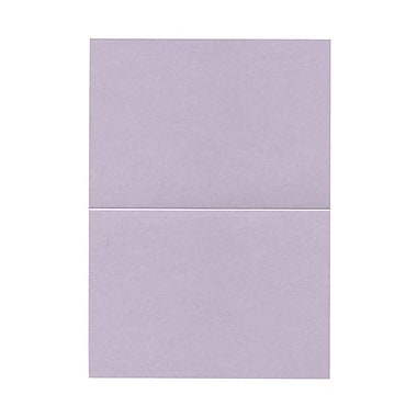 JAM Paper® Blank Foldover Cards, A7 size, 5 x 7, 80lb Stardream Metallic Kunzite, 50/pack (69313366)