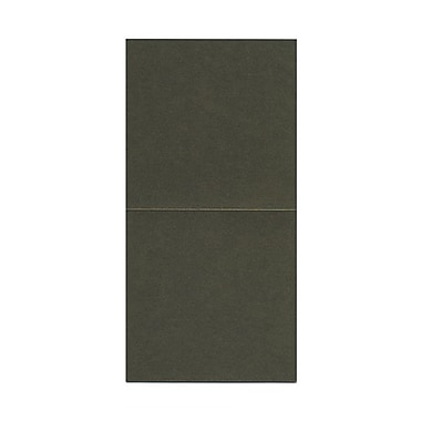 JAM Paper® Foldover Cards, 5.75 x 5.75 square, Curious Iridescents Rusted Metallic, 50/pack (6935178)