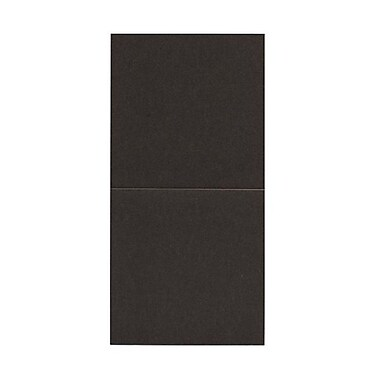 JAM Paper® Foldover Cards, 5.75 x 5.75 square, Stardream Metallic Bronze, 50/pack (6935182)
