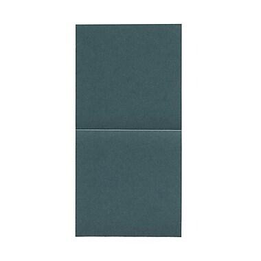 JAM Paper® Foldover Cards, 5.75 x 5.75 square, Stardream Metallic Emerald, 50/pack (6935185)