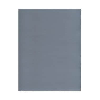 JAM Paper® 8 1/2in. x 11in. 2-Sided Foil Paper, Silver, 50 Sheets/Pack
