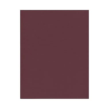 JAM Paper® 8 1/2in. x 11in. Texture Paper, Burgundy, 50 Sheets/Pack