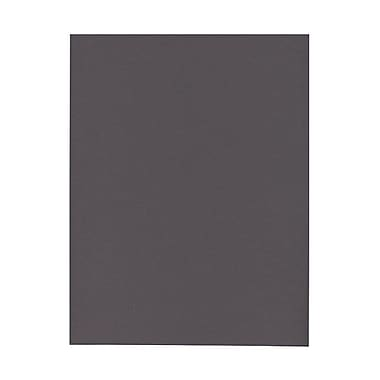 JAM Paper® 8 1/2in. x 11in. Texture Paper, Gray/Grey, 500 Sheets/Ream