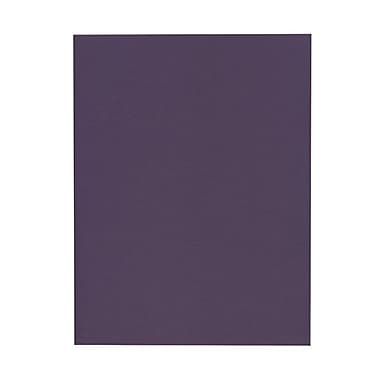 JAM Paper® 8 1/2in. x 11in. Texture Paper, Dark Purple, 50 Sheets/Pack