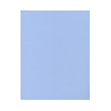JAM Paper® 8 1/2in. x 11in. Texture Paper, Baby Blue, 50 Sheets/Pack