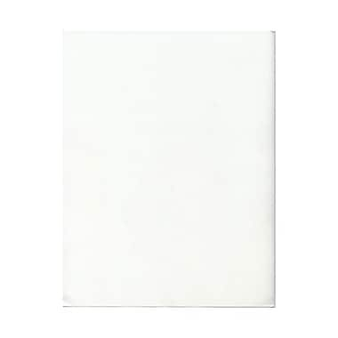 JAM Paper® 17lb 8 1/2in. x 11in. Vellum Translucent Paper, Clear, 100 Sheets/Pack