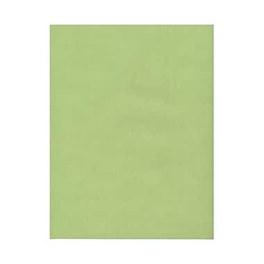 JAM Paper® 8 1/2in. x 11in. Translucent Vellum Paper, Leaf Green, 100 Sheets/Pack